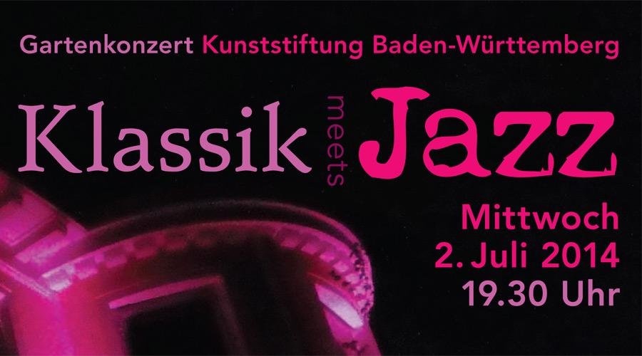Flyer Klassik meets Jazz