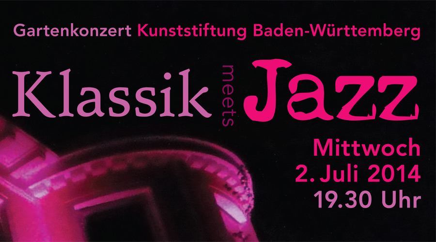 Flyer Klassik meets Jazz